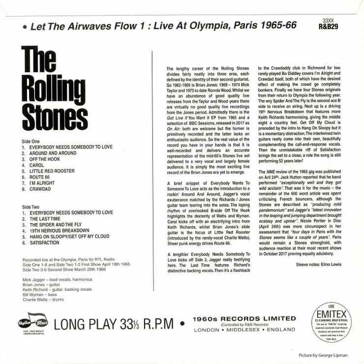 dbboots com - The Rolling Stones Bootlegs database -