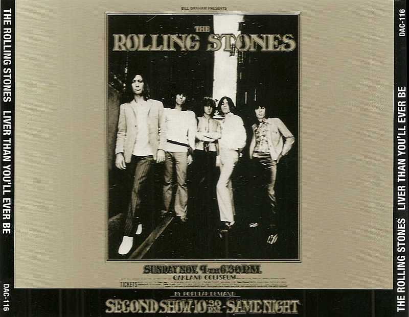 The Rolling Stones - Oakland Coliseum, Oakland, CA' November 9, 1969