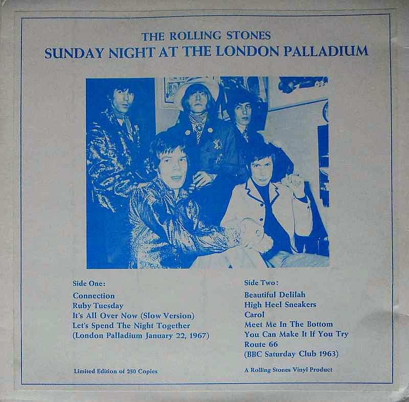 The Rolling Stones - SUNDAY NIGHT AT THE LONDON PALLADIUM