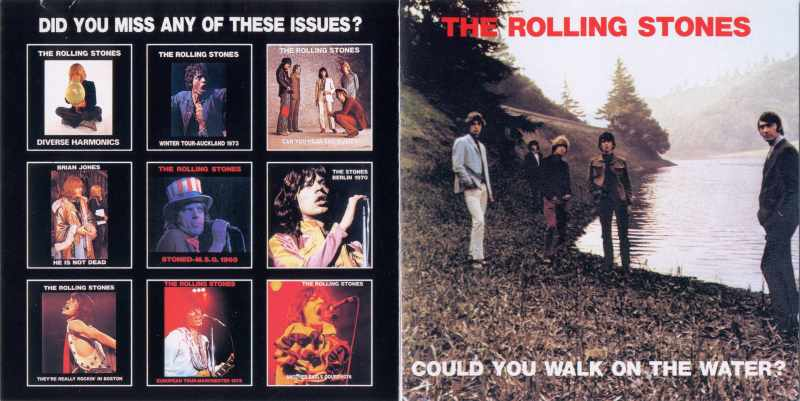 The Rolling Stones - COULD YOU WALK ON THE WATER? 1972-1979
